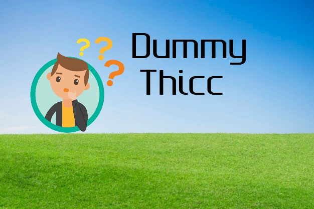 Dummy Thicc