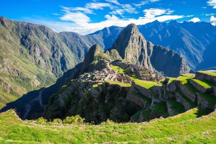 High Mountains In Peru