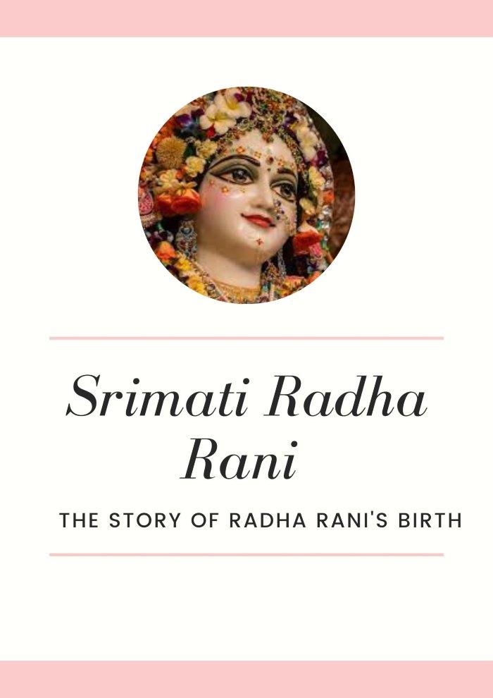 story of Radha Rani's birth
